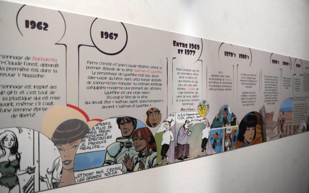 SORTIE: Elles sortent de leurs bulles : L'exposition qui met en valeur les femmes dans la bande dessinée