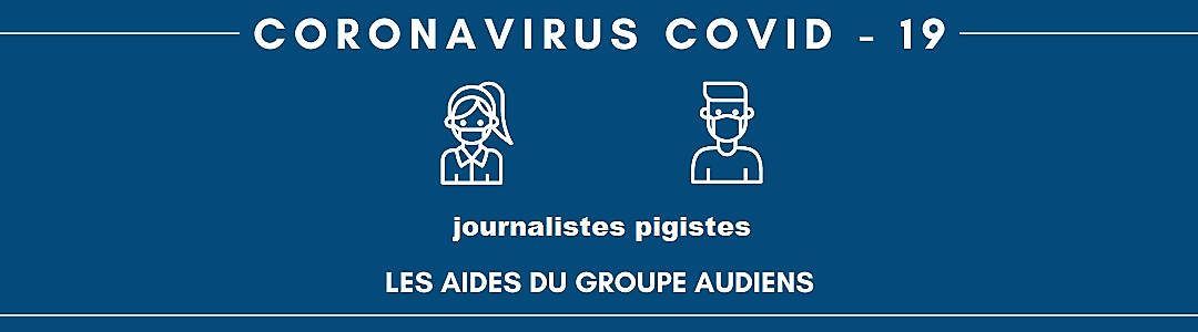 Audiens soutient les journalistes pigistes