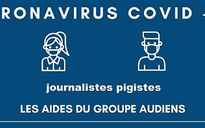 Audiens soutient les journalistes pigistes